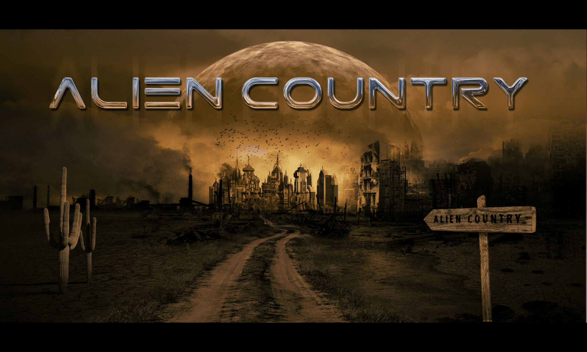 Alien Country Music Poster by Hugh Syme